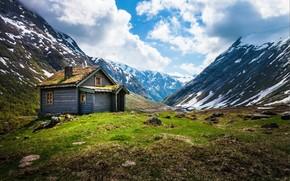 Norvegia, Montagne, capanna