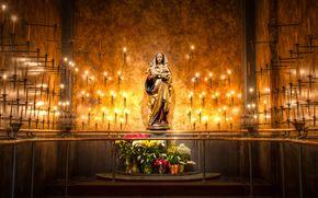 religione, Vergine, luce