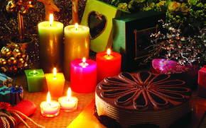Торт, Свечи, огонь