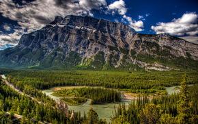 Montagne, Parco Nazionale di Banff in Alberta, Canada