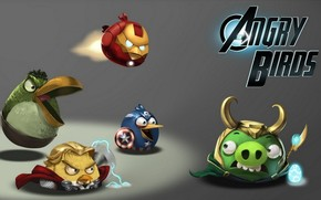 Avengers, Angry Birds, divertente