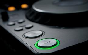 music, button
