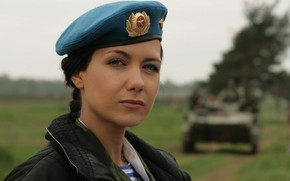 Ekaterina Klimova, very beautiful actress, Military.
