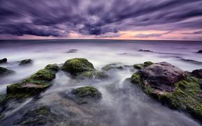 Италия, Сицилия, donnalucata, средиземное море, камни, небо, тучи, зима, kidkutsmedia photography