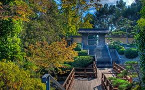 Giardini, san marino.california, Stati Uniti d'America, giapponese