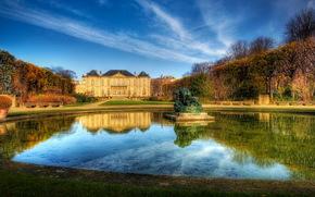 Castles (Fortress), France, sky, chateau rodin