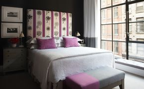 interior, style, design, city, Townhouse, room, bedroom