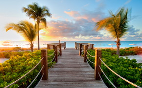 tropics, caribbean beaches, turks and caicos