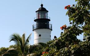 coast, lighthouse, key west, Florida