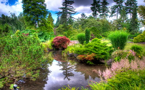 Giardini, Queen Elizabeth, vancouver, Canada