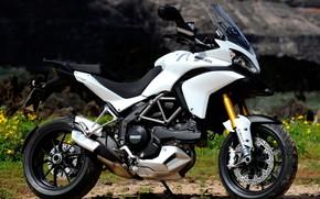 dello sport, motocicletta, bianco., motocicli