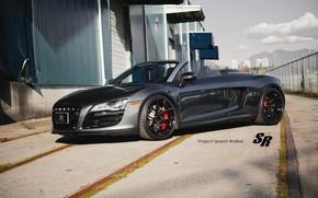 Audi, cabriolet, roadster, Audi