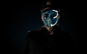 маска, мужчина, hollywood undead, johnny 3 tears, american tragedy