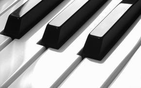 Music, keys, piano, piano