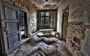 комната, ванна, интерьер