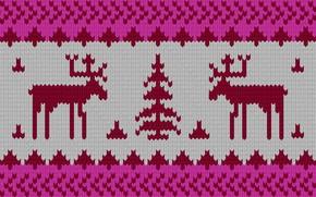 cervo, Elks, ornamento, Capodanno, inverno, maglione trama, struttura, tessitura a maglia, tessitura con cervi, tessitura con alce