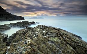 paesaggi marini, rocce, Paesaggi di mare, rocce