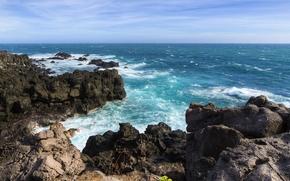 море, скалы, побережье