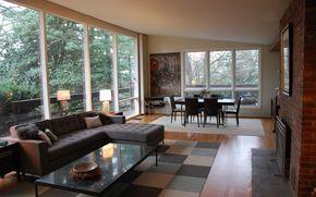 interno, stile, design, casa, villa, Soggiorno, salone, camino