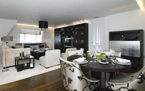 interno, stile, design, casa, appartamento, Soggiorno