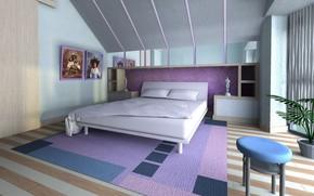 интерьер, стиль, дизайн, дом, жилая комната, спальня