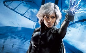 X-Men, Halle Berry, storm, lightning, bridge