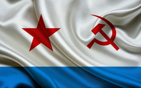 flag, USSR, Hammer and Sickle, Strips, Navy