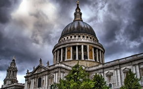 clouds, clouds, London, London, united kingdom, United Kingdom, St Paul's Cathedral, st paul's cathedral