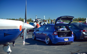 fitment, CDs, cars, blue, a pretty