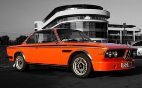mquina, Carro, cidade, estrada, Vale a pena, laranja, BMW