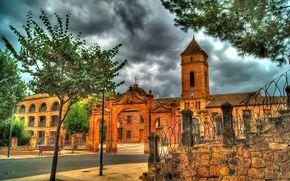 Spagna, Santa Eulalia, cielo, edificio