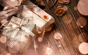 Band, Geschenke, Box, Blumen
