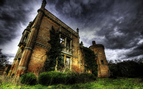 United Kingdom, rougham, hall, landscape
