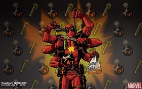 Deadpool, un superhroe, tira cmica, suicidio