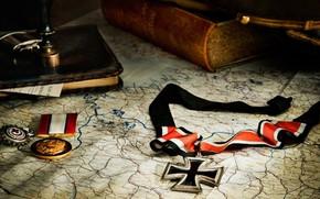 mappa, libro, Registrazione, onori, attraversare