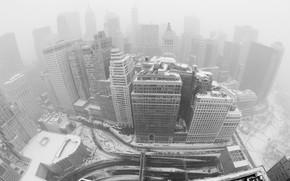Winter, building