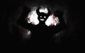 daemon, fright, Horn