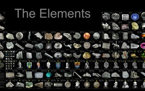 chemicals, table, Metals, nonmetals, gas, etc.