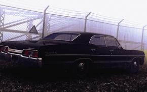 Chevrolet, Impala, 1967, supernatural, cars, machinery, Car