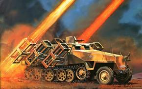 rocket launcher, missile, war, picture