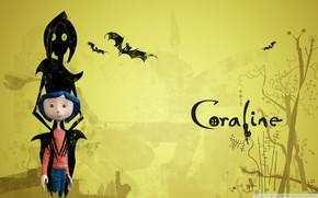 Coraline, Mouse, volatile, cartone animato