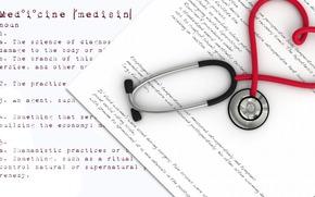 Herz, Medizin, Statoscope, Herz, abstrakt, Romantik, Lieben, romantisch,