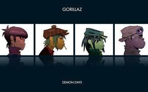 gorillaz, demon days, Multi Group