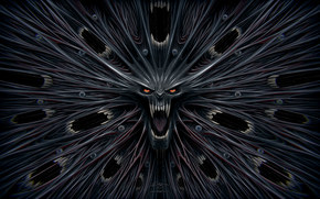 daemon, psychedelic, madness