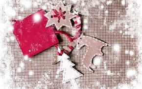snowflake, Deer, Tree, jobbing, board
