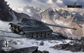 Tanks, tank, Art, Germany, Mountains, Winter, snow
