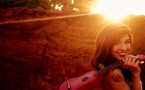 Bume, Gitarre, Sonne, Mdchen, Bume, Gitarre, Sonne, Mdchen