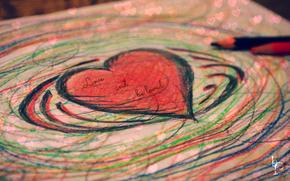 любовь, сердце, валентинка
