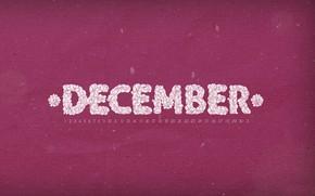 декабрь, календарь, числа