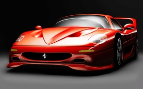 car, Ferrari, sport, Sport, machine, red, race